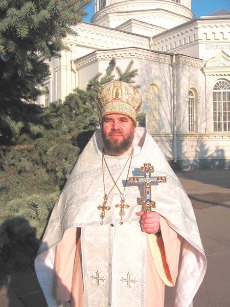 Протоиерей Валентин Цешковский.