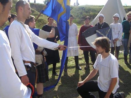 «Паладин» продемонстрировал 100% рыцарской культуры.