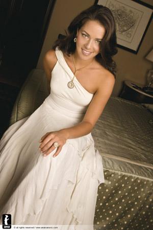 Анна Иванович, 20 лет. Сербия. Лучшая теннисистка мира по версии WTA. Победительница Роллан Гаррос-2008, финалистка Australian Open.