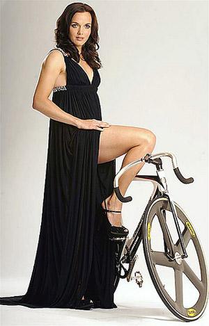 Виктория Пендлтон, 27 лет. Великобритания. Чемпионка и рекордсменка мира по велотреку.