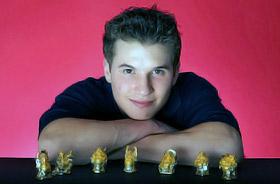 Джонатан Хортон, 22 года. США. Лидер американской сборной по спортивной гимнастике.