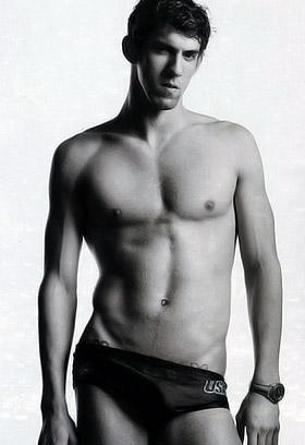 Майкл Фелпс, 23 года. США. Шестикратный олимпийский чемпион по плаванию, 17-кратный чемпион мира, обладатель шести мировых рекордов. Рост - 193 см, вес - 88 кг. На Олимпийских играх Пекина Фелпс вполне может стать самым титулованным спортсменом в истории