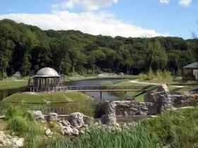 В «Феофании» есть пять озер.