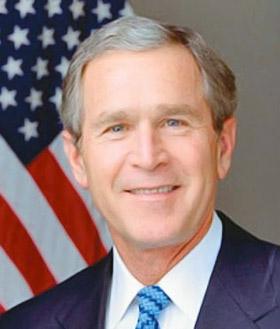 Джордж Буш.