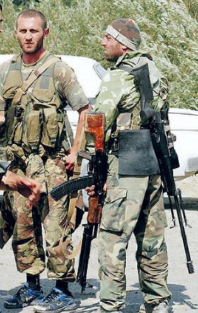Югоосетинские бойцы храбро дрались за родину.