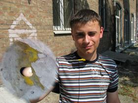 Солнце вчера заменило электроплиту - корреспонденты «КП» смогли поджарить яичницу.