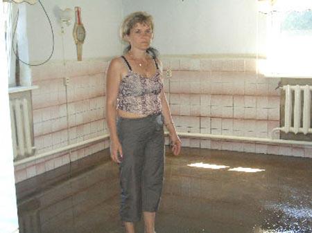 Дом Марии Микитин теперь непригоден для жилья.
