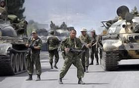 Отношение у грузин к российским войскам однозначное - их считают оккупантами.
