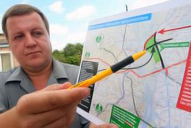 Андрей Махов: - Мы просили пустить мост в обход садов, но наш проект не приняли.