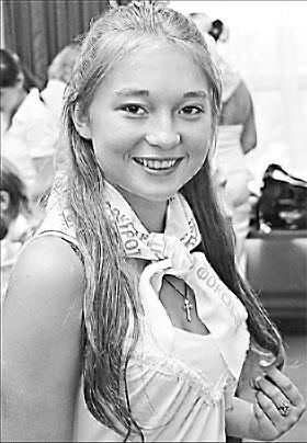 Лиза Гайдученко мечтает стать археологом.