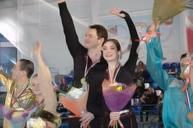 Алексей Тихонов и Анна Большова в кино сыграли чемпионов.