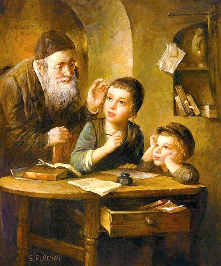 Если будете хорошо учиться, все мое будет вашим.