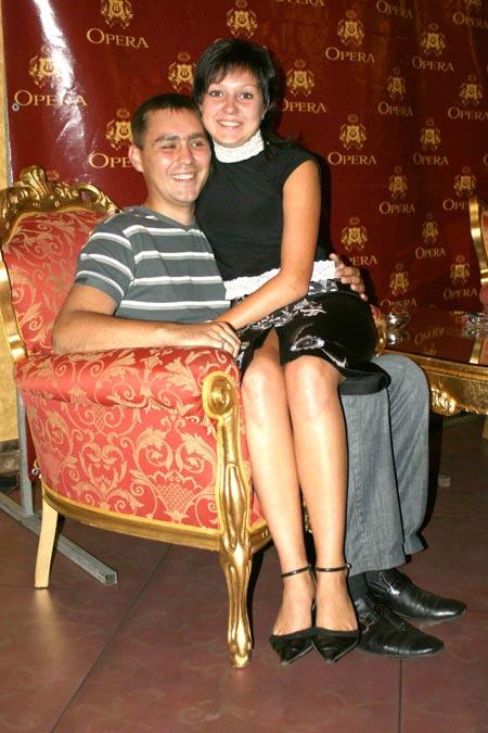 Елена и Виталий Циганковы счастливы, что расписались 08.08.08.