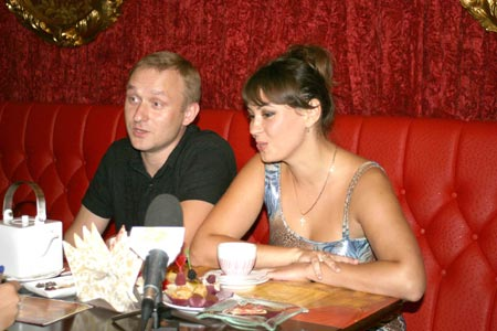 Марина и Родион Бильченко успели не только съездить в свадебное путешествие, но и обвенчаться.