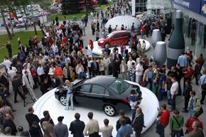 Популярность автошоу растет с каждым годом.