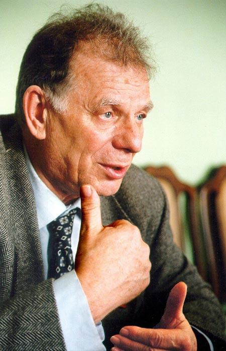 Нобелевский лауреат Жорес Алферов.