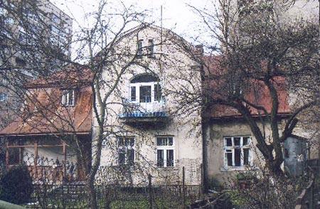 Так выглядел дом до того как приехали бульдозеры.