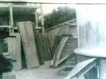 Все начиналось с груды металлоконструкций (архивное фото).