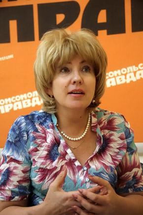 Светлана Нетрусова.