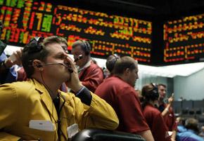 На многих фондовых рынках началась настоящая паника.