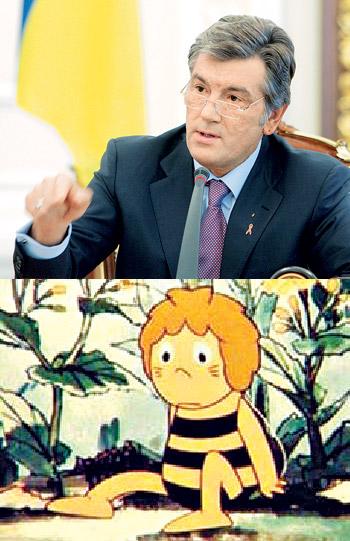 - И отчего лисы так мед не любят?