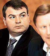 Министр обороны России Анатолий Сердюков.