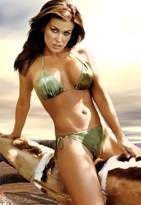 Актриса и модель Кармен Электра -один из секс-символов США.