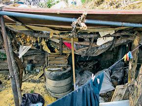 Подвал, в котором сутки провели дети, нашли в огороде насильника.