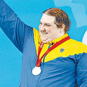 Коробка - сильнейшая дама украинского спорта.