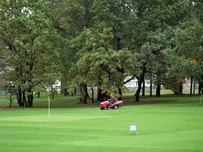 Местный гольф-клуб - частичка Европы.
