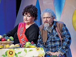 В новом спектакле веселые супруги Елена Степаненко и Евгений Петросян предстанут в новых образах.