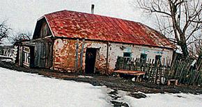 Дом провидицы в селе Себино, где она родилась.