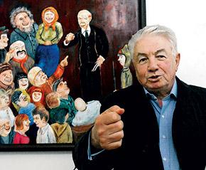 Классик отечественной литературы Владимир Войнович не хочет тратить порох на врагов.