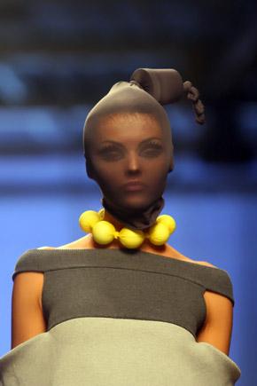 Модный головной убор от Натальи Глазковой.