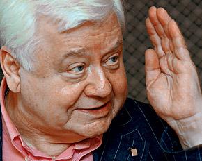 Олегу Табакову припомнили все старые грешки. Фото Владимира ВЕЛЕНГУРИНА.