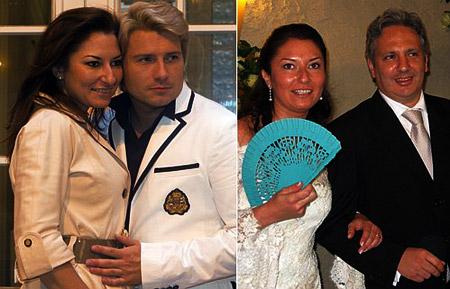Говорят, что ради романа с Басковым дочь Кабалье ушла от мужа - испанского бизнесмена Карлоса (на фото справа).