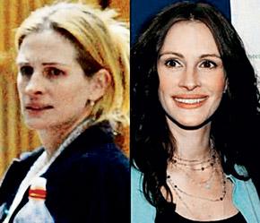 В этой женщине на снимке мало что общего от известной всем «Красотки», но тем не менее это та самая Джулия Робертс. Не до красоты ей теперь. Не так давно приобрела особняк за 30 миллионов долларов и больше хлопочет по дому.