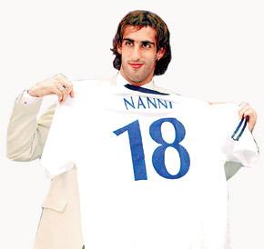 В чемпионате Украины Нанни забил всего один гол.