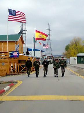 Службу в Косово несут военные из 34 государств мира.