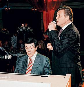 Последний раз Лещенко спел дуэтом вместе с другом на его 65-летии.