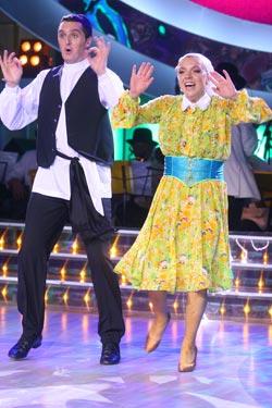 Нехватку танцевальной техники пара компенсирует оригинальностью. Фото Максима ЛЮКОВА.
